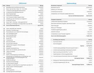 Einnahme überschuss Rechnung Beispiel : numbers vorlage einnahmen berschuss rechnung 2013 mit ust ohne ~ Themetempest.com Abrechnung