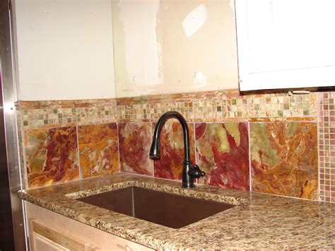 broken bit mosaics onyx  mosaic tile backsplash