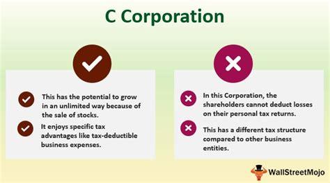 C Corporation (Advantage, Disadvantage) | C Corporation vs ...