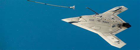 Boeing is about to conduct the first test flight of a refueling stealth drone for the US Navy…