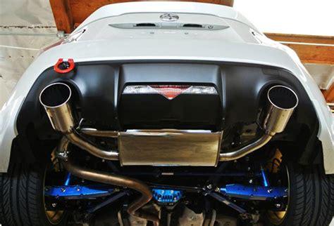 subaru brz exhaust legamax premium exhaust evasive motorsports