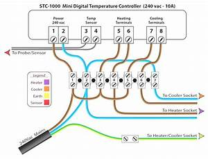 Stc 1000 Temperature Controller Wiring Diagram Volovets Info At