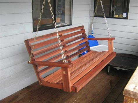 wooden front porch swing interesting ideas  home