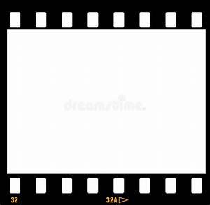 35mm Film Frame Frames Stock Vector Illustration