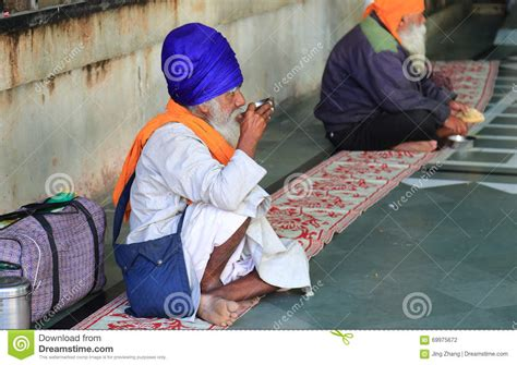 la plus grande cuisine du monde la plus grande cuisine gratuite du monde de harmandir sahib temple d 39 or photographie éditorial