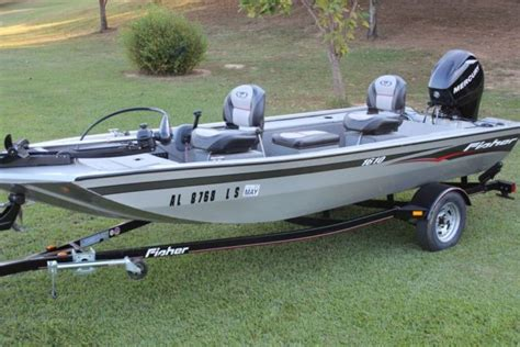 Stik Boats Price by 2008 Fisher 1610 Ss Stick Steer Bass Boat W 40hp Efi 4
