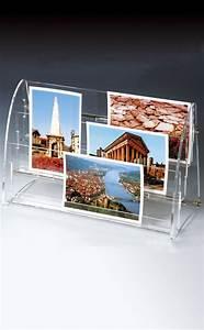 Porte Carte Postale Mural : pr sentoir plexiglass de comptoir ou mural ~ Teatrodelosmanantiales.com Idées de Décoration