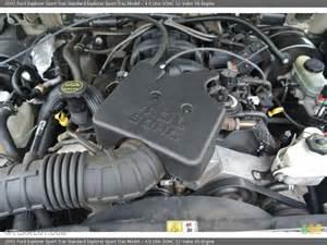 2001 Ford Explorer Sport Trac Engine