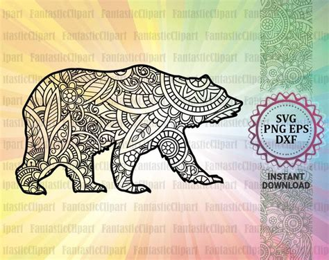 Welcome to didiko designs, •we are so happy to present to you, our newest bundle mama bear svg bundle from our animal mandala collection. Bear Mandala Svg Bear Svg Design Bear Clipart Bear Decal ...