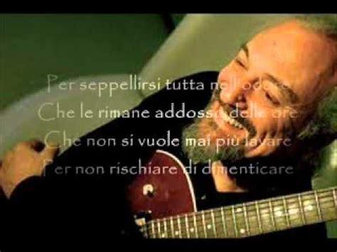 Testo Un Uomo Finardi by Eugenio Finardi Paura Di Amare Doovi