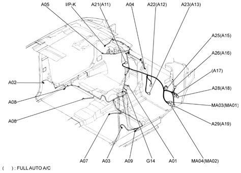 repair guides air bag ac harness  air bag