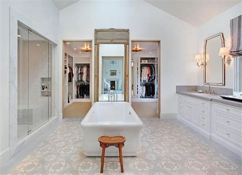 french master bathroom     washstands