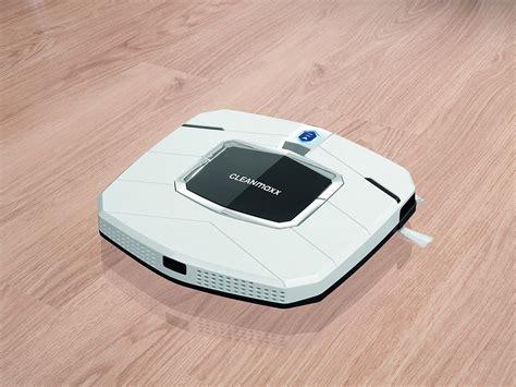 slim by design cleanmaxx 05895 slim design im saugroboter test