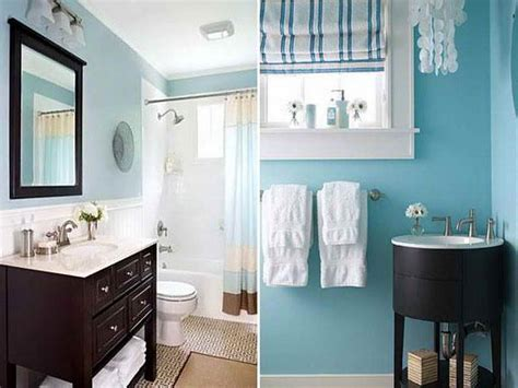 Pretty Bathroom Color Ideas Brown And Blue Bathroom Ideas Blue Brown Color Scheme