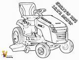 Tractor Lawn Coloring Mower Pages Riding Lawnmower Tractors Snapper Boss Farm Nxt Yescoloring Template sketch template