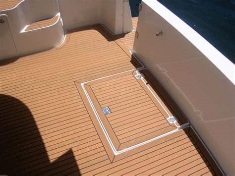 cork flooring boat 22 best synthetic teak decking images on pinterest