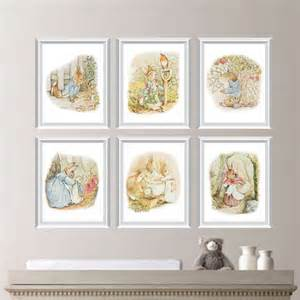 baby nursery print art peter rabbit nursery decor peter