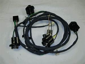 1968 Camaro Rear Body Light Wiring Harness  Standard Coupe