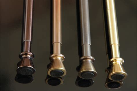 cafe tension rods metallic telescopic 9 5mm jago