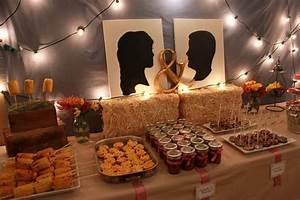 vintage western couples shower With couples wedding shower decoration ideas