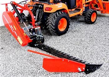 sickle bar mower  compact tractors