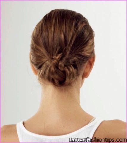 perfect  bun hairstyles latestfashiontipscom