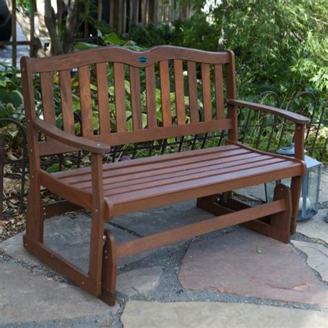 outdoor gliders bench furniture swings retro loveseat