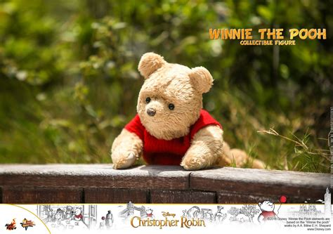 christopher robin winnie  pooh collectible figure