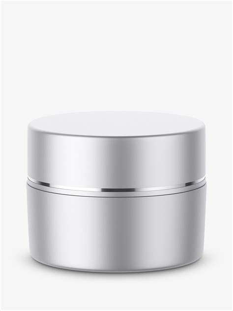 Sample design is not included in the download file. Metallic cosmetic jar mockup - Smarty Mockups