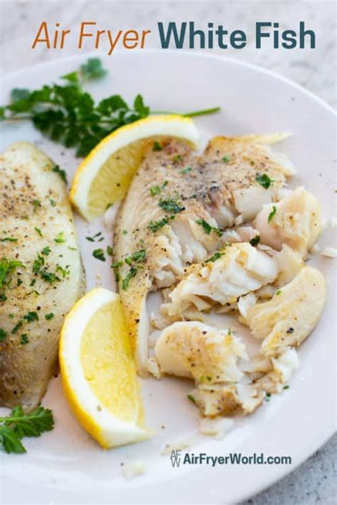 air fryer fish recipe fried recipes carb low healthy tilapia garlic discover
