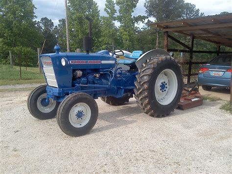 1972 Ford 4000 Tractor
