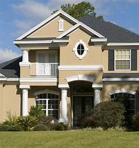 exterior color schemes Exterior Paint Schemes And Consider Your Surroundings ...