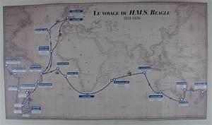 File:Bagatelle 2009 Charles Darwin HMS Beagle map.JPG ...