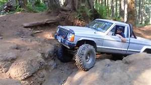 88 Jeep Comanche Mj On The Waterfall In Tillamook Oregon