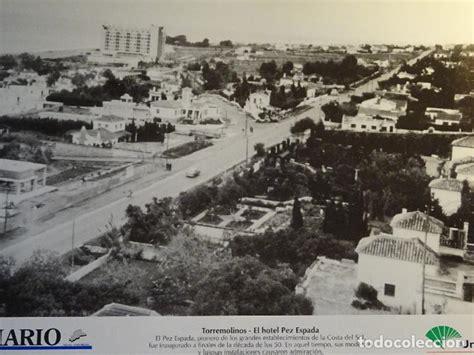 antigua lamina fotografia de torremolinos mala vendido