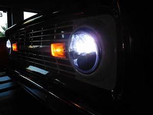1977 Ford F150 Led Lights 1966 1977 Ford Bronco Led Projector Headlights