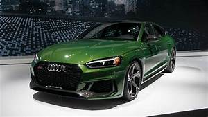 Audi Rs5 Sportback Is A Mean  Green  444-hp Machine