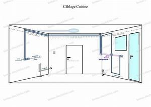 Norme Installation Prise Electrique Cuisine : installation electrique cuisine xl99 jornalagora ~ Melissatoandfro.com Idées de Décoration