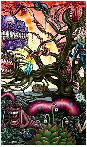 Trippy nightmare art   MyConfinedSpace