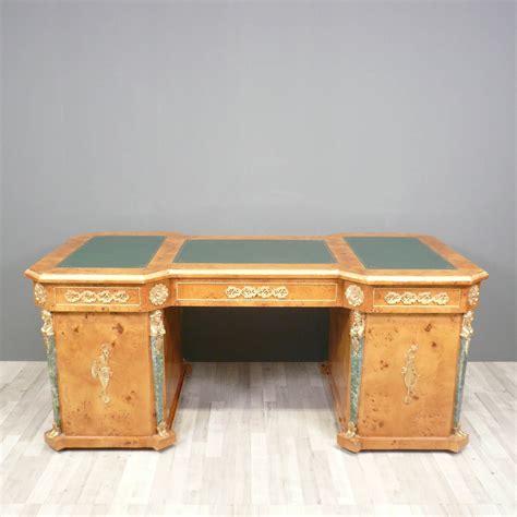 loupe bureau bureau empire bureau empire en loupe d 39 orme meuble de
