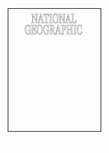 Resume Sample Free Download Sample National Geographic Cover Template Printable Pdf