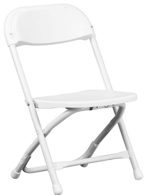 white plastic folding chair modern outdoor
