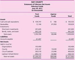 solved fiduciary financial statements ray county With trust financial statements template