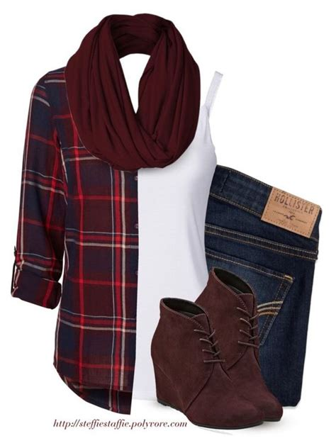 green plaid shirt womens 12 polyvore ideas for fall pretty designs