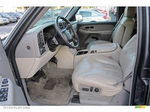 Neutral Tan  Shale Interior 2001 Gmc Yukon Xl 2500 Slt 4x4