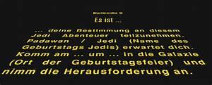 Star Wars Schriftzug : star wars kindergeburtstag ~ A.2002-acura-tl-radio.info Haus und Dekorationen