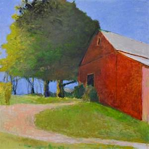thurber barn large version by wolf kahn on artnet With barn painting cost