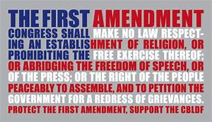 CrimLaw: VINDICATION: The 1st Amendment Trumps the ...