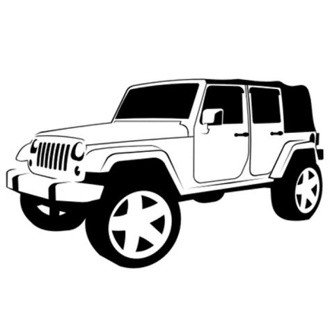 4 door jeep drawing jeep fotos y vectores gratis