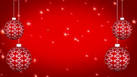 merry christmas typographical animation red stock